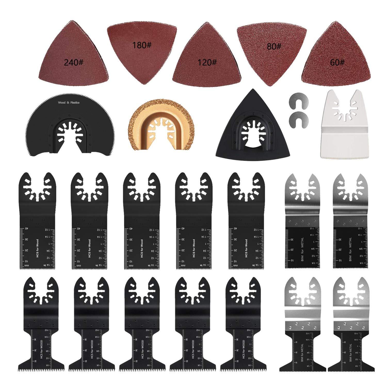 Los Angeles Mall El Paso Mall 32 Piece Oscillating Accessory Multi-Tool Quick Kit