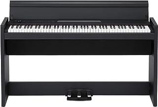 KORG 電子ピアノ LP-380-BK 88鍵 ブラック ヘッドホン、ペダル付属 同音連打可能