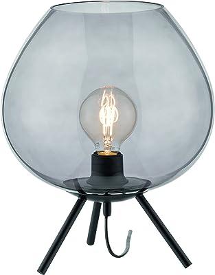 Fischer & Honsel 50352 Lampe de table, Métal, Noir