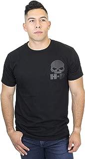 Mens H-D Skull Willie G Black Short Sleeve T-Shirt