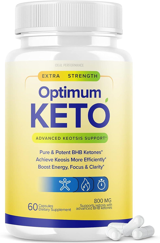 Optimum Keto Pills free shipping specialty shop Advanced BHB Capsules 60 Ketones Supplement