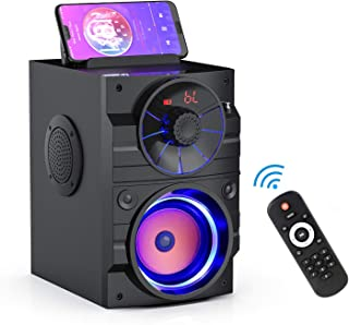 Portable Bluetooth Speakers with Light, Wireless Big...