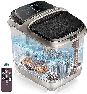 جهاز مساج حمام مائي للقدم الكهربائية مع جهاز مساج حمام مائي للقدم حرارية