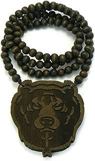 Best hip hop wooden necklaces Reviews