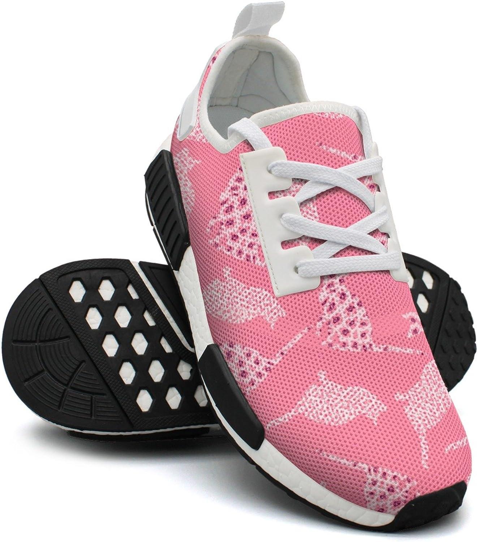 Pink Leopard Print Cats Sport Casual Lightweight Running shoes Women NMD