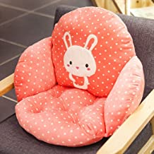 Chair Cover, Cartoon Cute Animal Student Chair Cushion Waist Pillow Office Hold Pillow Creative Fashion Cushion Back Pad