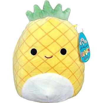 Squishmallow 8 Inch Maui The Pineapple Plush Toy, Super Pillow Soft Plush Stuffed Animal, Yellow