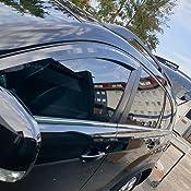 Autoclover Opel Antara 2007 Windabweiser Set 4 Stück Rauch Auto