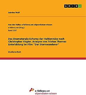 """Das Dramaturgie-Schema der Heldenreise nach Christopher Vogler. Analyse von Tristan Thornes Entwicklung im Film """"Der Stern..."""