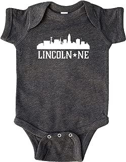 Inktastic Lincoln Nebraska Skyline NE Cities Infant Creeper