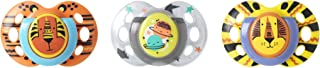 Tommee Tippee Day & Night Pacifiers, with Glow-In-The-Dark, BPA-free, 18-36 Months, 3 Count (Colors May Vary)