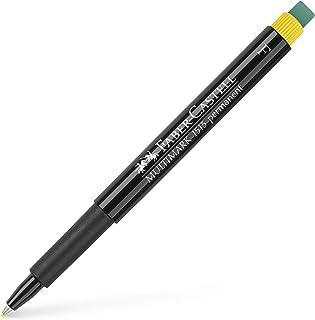 قلم ماركر مالتي مارك ثابت بممحاة من فابير كاستل 1513- اف- اصفر