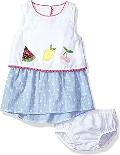 Mud Pie Baby Girls Fruity Summer Casual Dress