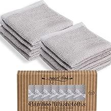 SWEET CHILD Bamboo Baby Washcloths (Bonus 8-Pack) – Premium Extra Soft &..