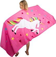 Tuvizo Unicorn Microfiber Towel for Beach Bath Swim Pool & Play - Perfect Unicorn Gifts for Girls (Watch Our Video)