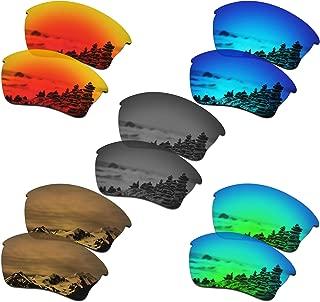 SmartVLT Set of 5 Men's Lenses for Oakley Half Jacket XLJ Sunglass Combo Pack S02