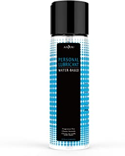 Lubricant Water-Based Lube, 237ml Hypoallergenic Vegan-Friendly, Suitable for Sensitive Skin - by Anjou