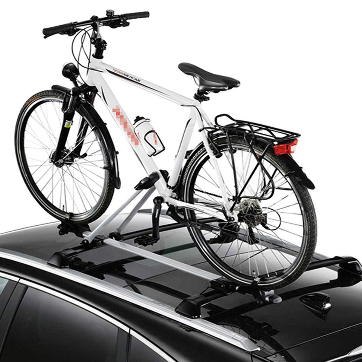 WOLTU 1x Portabicicletas de Techo Soporte 1 Bicicleta con ...