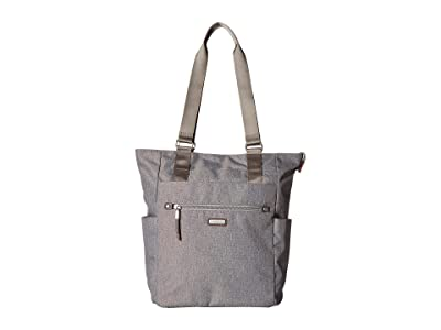 Baggallini New Classic Make Way Tote with RFID Wristlet (Stone) Handbags