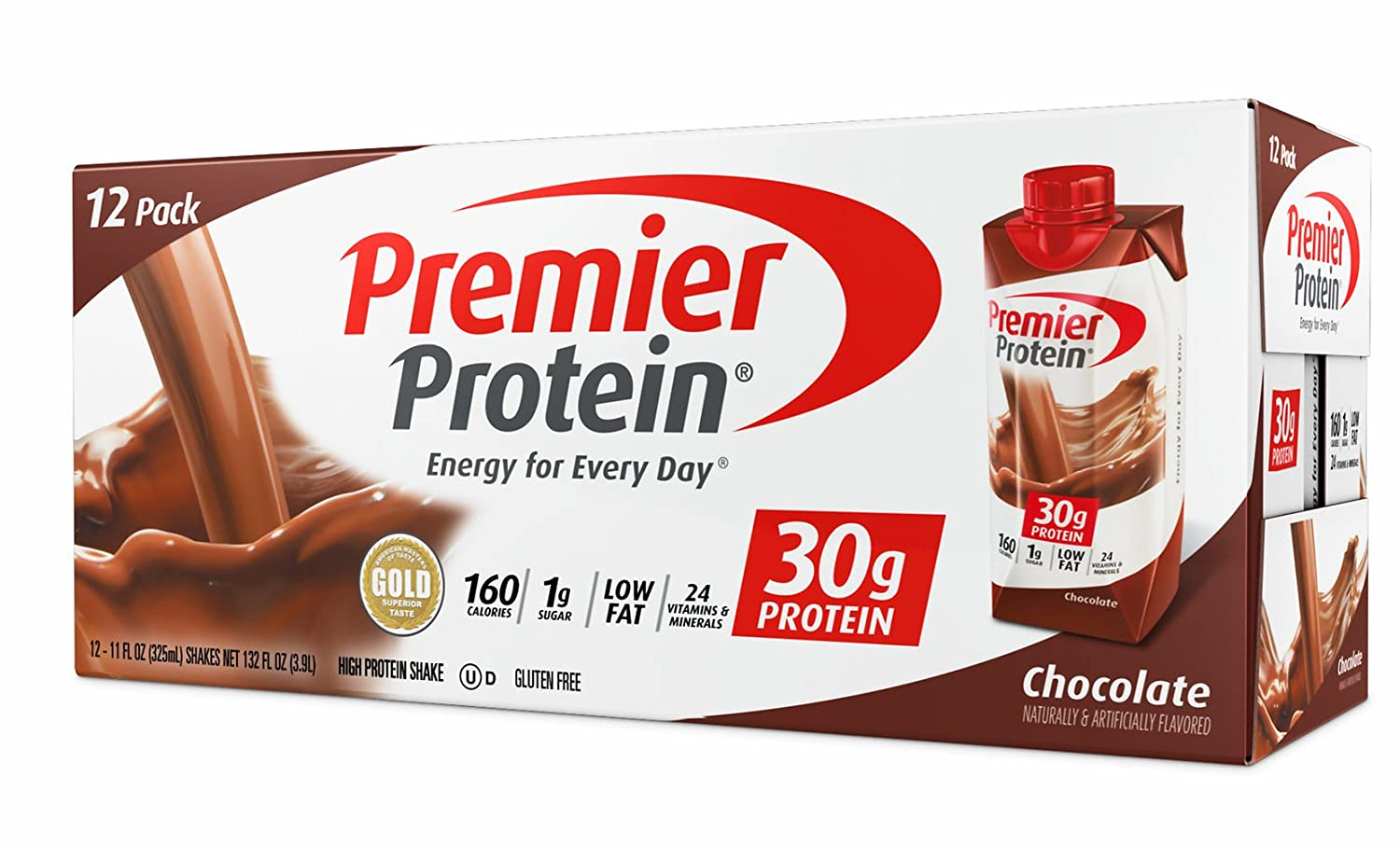 Chicago Mall Very popular Premier Protein Chocolate Shake 11oz 12 132o Pack Total of