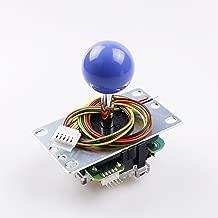 SANWA JLF-TP-8YT Dark Blue Ball Top Handle Arcade Joystick 4 & 8 Way Adjustable, Hori Fight Stick Repair Part (Mad Catz SF4 Tournament Joystick Compatible) - Dark Blue