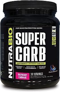 NutraBio Super Carb (Raspberry Lemonade, 30 Servings)