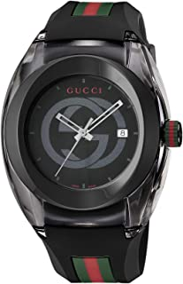 [グッチ] 腕時計 SYNC YA137107A メンズ 並行輸入品 ブラック