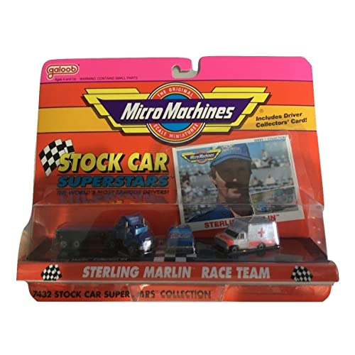 Micro Machines Stock Car Superstars Sterling Marlin Race Team