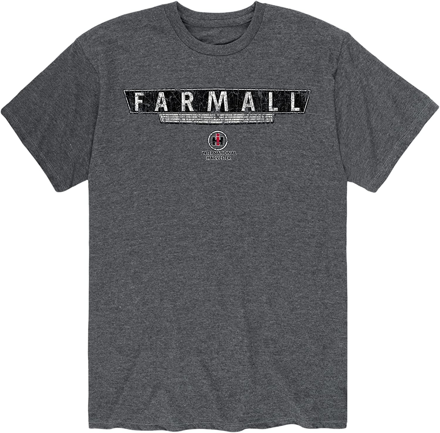 Country Casuals Farmall Grill Distressed Gr - Men's 5 ☆ very popular Sleeve Excellence Short