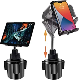 Tablet Car Mount for iPad, iPad Pro Car Holder, Cup Holder Tablet Mount for Car Truck Vehicle Heavy Duty Car Cradle Stand ...