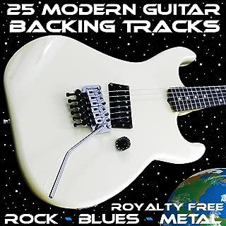 25 Modern Royalty Free Guitar Backing Tracks Rock Blues Metal Jam