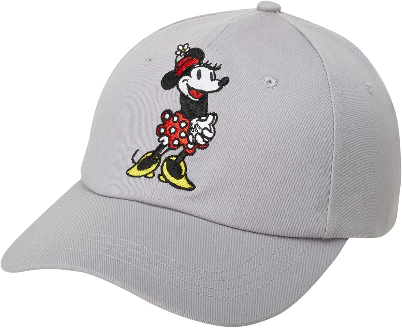 Disney Women's Minnie Mouse Hat –Baseball Cap, Mom Hat