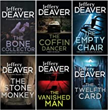 Lincoln Rhyme Series 1-6 Books Collection Set By Jeffery Deaver (The Bone Collector, The Coffin Dancer, The Empty Chair, T...