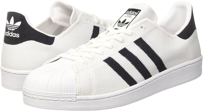 Adidas Originals Mens Superstar Knit Classic Shell Toe Trainers