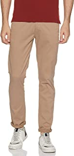 Amazon Brand - Symbol Men's Relaxed Fit Casual Trousers