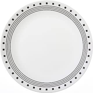"""Corelle Livingware City Block 10-1/4"""" Dinner Plate (Set of 4)"""