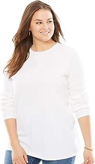 Women's Plus Size Thermal Sweatshirt