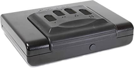 First Alert Portable Handgun Safe, Small Multicolor, 5200DF
