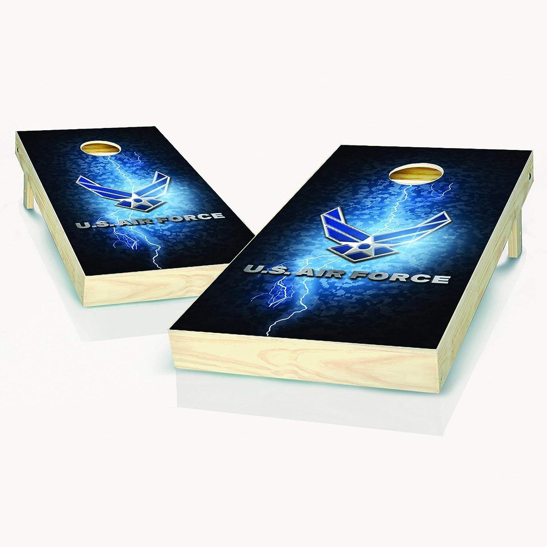 Skip's Garage US Air Limited time Direct store cheap sale Force Lightning Boards Choose - Yo Cornhole