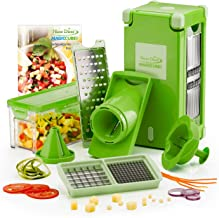 Genius Vegetable and Fruit Slicer Made of Plastic, Plastic, Green, 27 x 12.5 x 13 cm