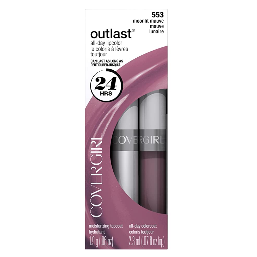 COVERGIRL OUTLAST ALL-DAY LIP COLOR #553 MOONLIT MAUVE