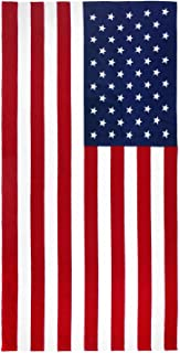 Kaufman - American Flag 30in x 60in Beach, Bath, Pool, Sauna Towel. (101210)