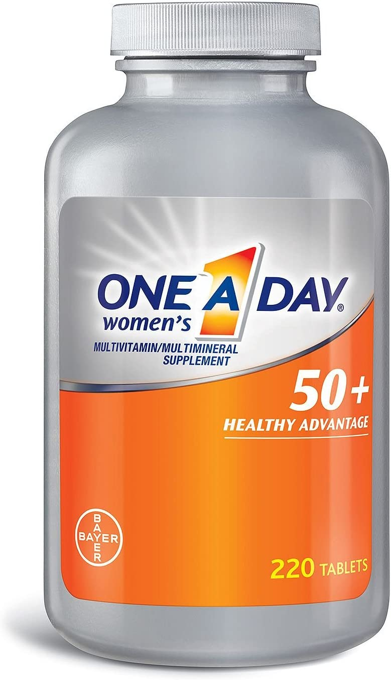 One A Day Women's 50+ Ranking TOP4 Multivitamin 22 Tablets Super-cheap Healthy Advantage