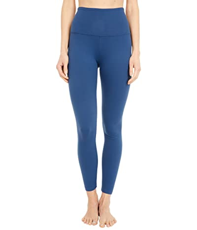 Beyond Yoga Supplex High Waisted Midi Leggings (Blue Horizon) Women