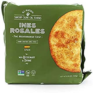 Tortas de Aceite by Ines Rosales - Rosemary and Thyme (6.34 ounce)