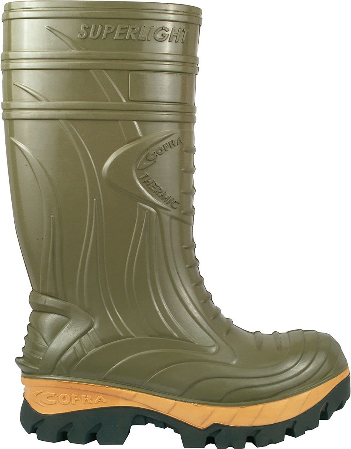 Cofra Thermic Green Safety Wellingtons