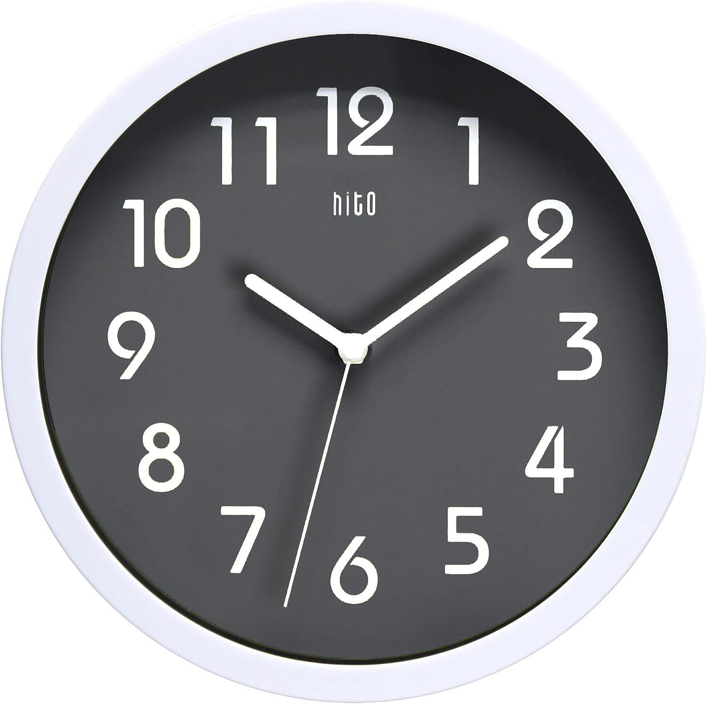 El mejor diseño moderno: Hito – Moderno y colorido reloj de pared