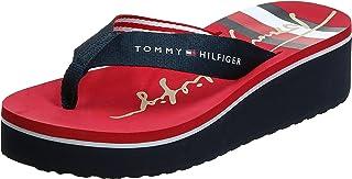 Tommy Hilfiger SIGNATURE STRIPE HIGH FLIP FLOP womens Flip-Flop