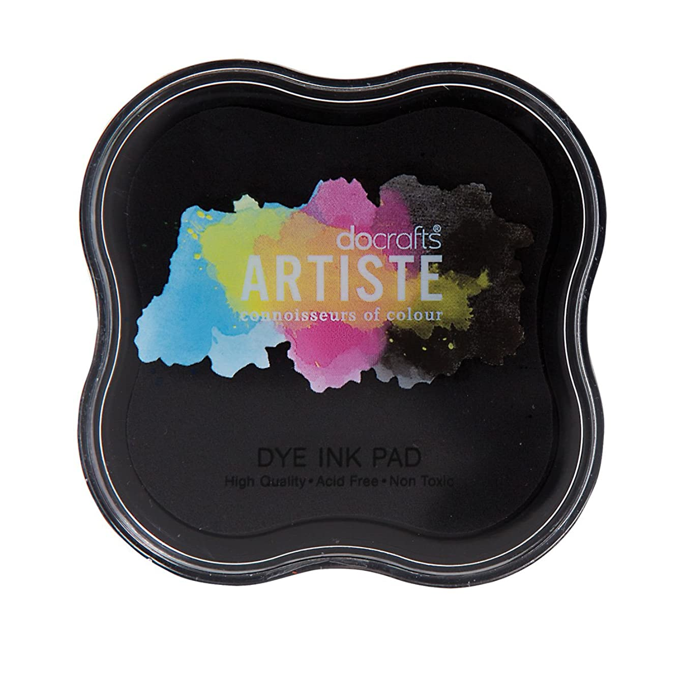 DOCrafts Artiste Dye Ink Pad, Black