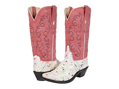 Old West Boots Rosey (White) Women